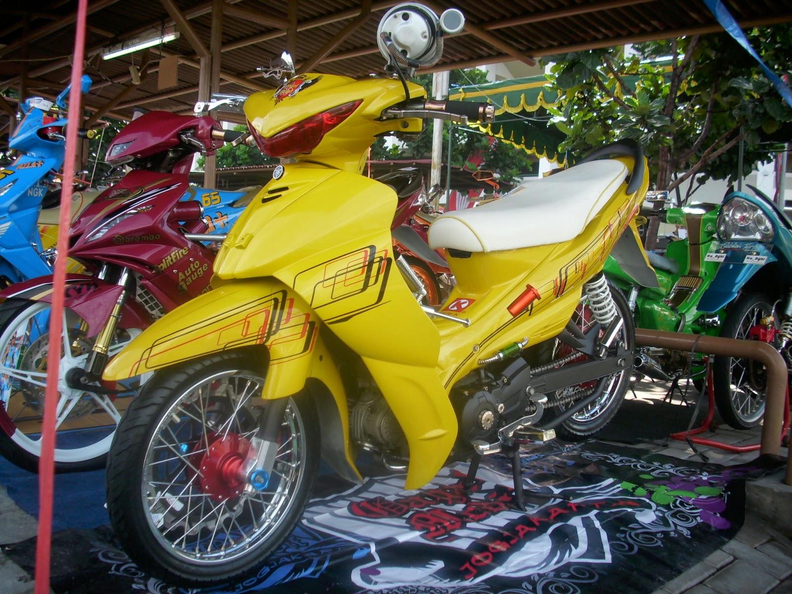 Foto Modifikasi Yamaha Jupiter Z Terpopuler