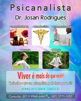 Psicanalista Dr. Josan Rodrigues