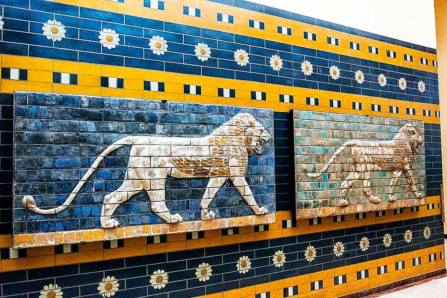Ishtar Processional Way Lions
