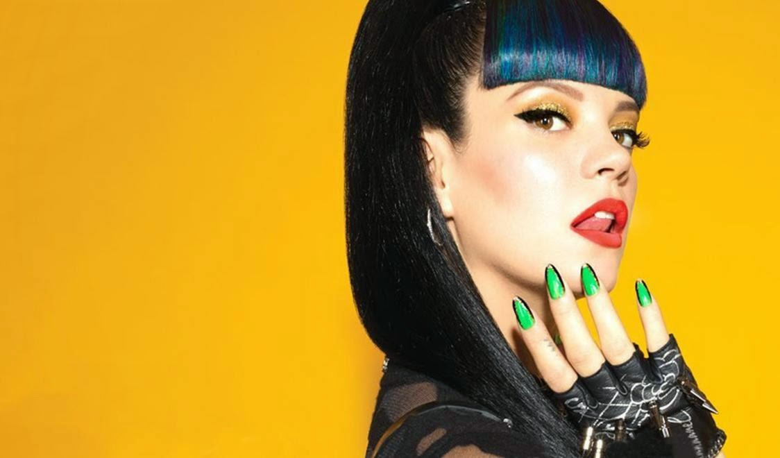 The Glamour Whore: ~Lily Allen Nails It... Like No Other~