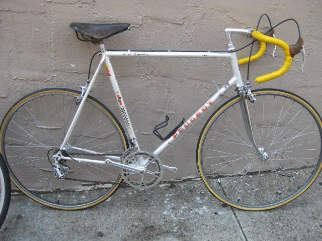 bikeville thoughts: 58cm peugeot super competition for sale