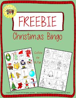 https://www.teacherspayteachers.com/Product/Christmas-Bingo-FREEBIE-1967781