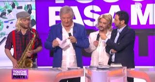 Lors de l'émission Touche Pas à Mon Poste, le grand Patrick Sébastien