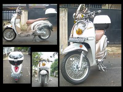 Kumpulan Modifikasi Motor Honda Scoopy