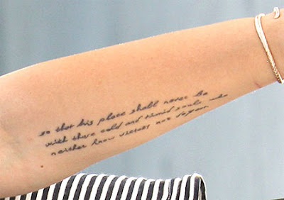 miley cyrus new quotes tattoo design