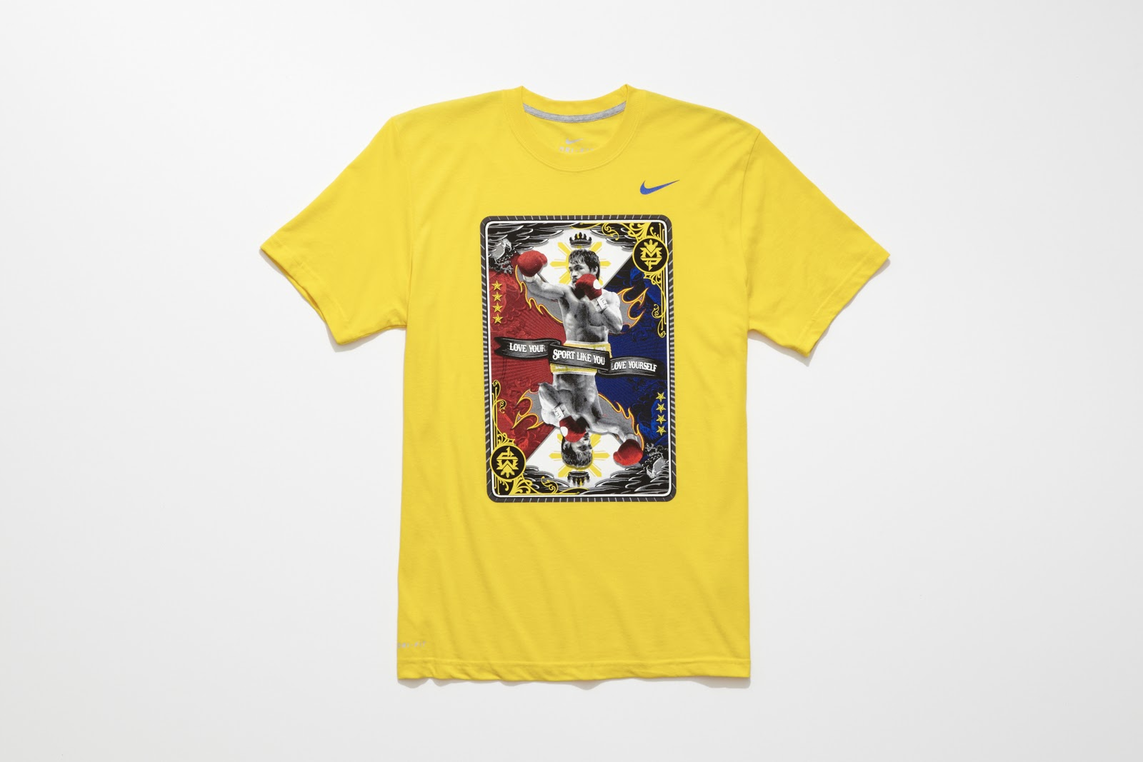 Nike unveils holiday 2011 manny pacquiao collection mr sport for Manny pacquiao nike t shirt