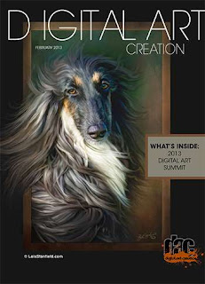 Digital Art Creation Magazine February 2013