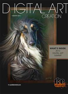 Digital Art Creation Magazine February 2013