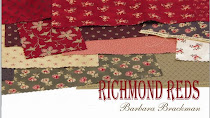 RICHMOND REDS<br>Yardage is in shops.