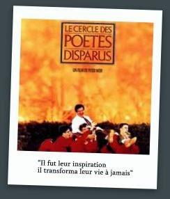 Le cercle des poètes disparus-1989-Peter Weir-affiche du film http://prendre-le-temps-de-ralentir.blogspot.fr/