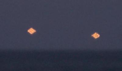 Glowing UFO's Caught Above Vero Beach 2015, UFO Sightings