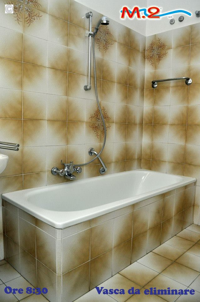 M 2 trasformazione vasca in doccia e sistema vasca nella - Vasche da bagno esterne ...