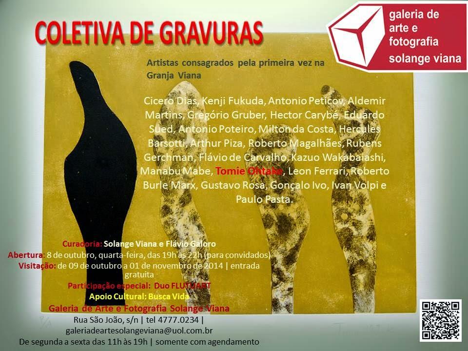 COLETIVA DE GRAVURAS