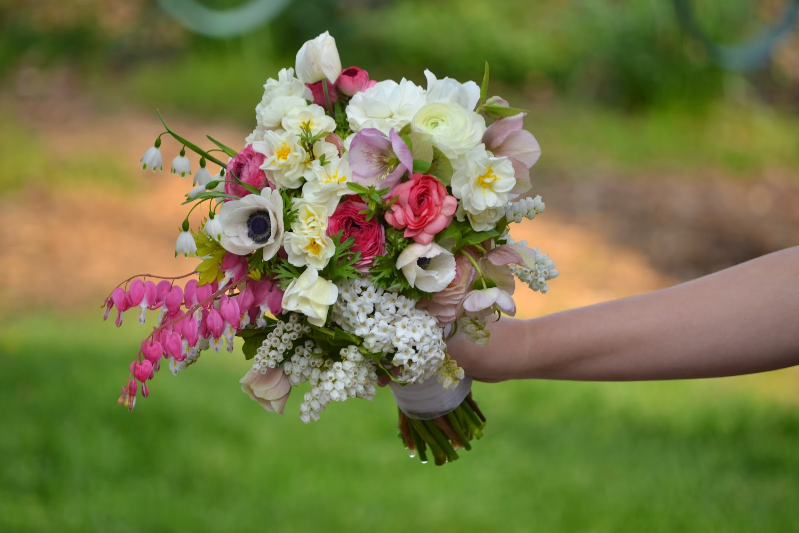 Wedding Flowers from Springwell: Romantic Bleeding Heart for April ...
