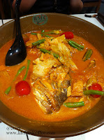 Element Spice signature curry fish head from Heng Heng Curry Cafe @ causeway point