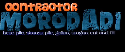 MORODADI CONTRACTOR | jasa bore pile mesin dan manual strauss pile JAKARTA