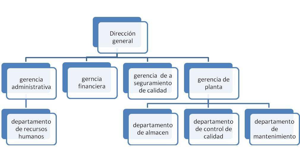 Anexo 5 organigrama de una empresa algunas cosas de for Funcion de un vivero escolar