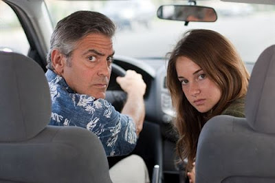 Los Descendientes - George Clooney (Matt King) y Shailene Woodley (Alexandra King)
