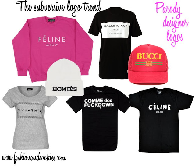 Subversive logos, parody logos t-shirts and hats, Fashion and Cookies