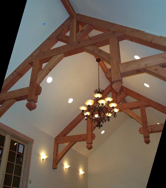 Bride 39 s blog to beyond may 2013 for Half vaulted ceiling with beams