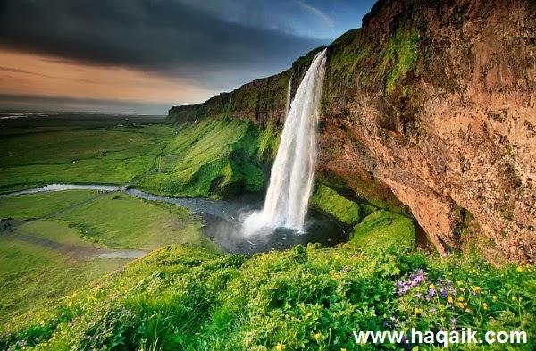 شلال Seljalandsfoss  l اجمل الشلالات في العالم 35546ac3-1e5b-4318-8