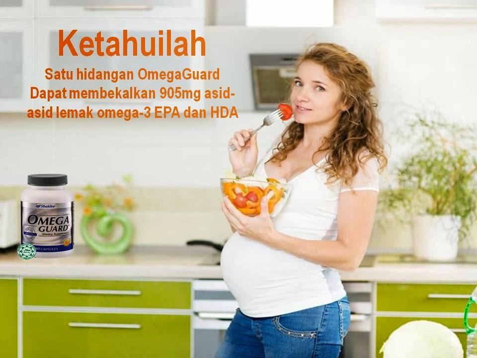 wanita hamil sangat memerlukan omega-3