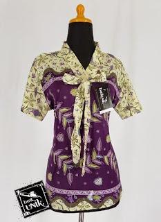 Foto Baju Batik Motif Pekalongan