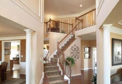 alfombra en escalera