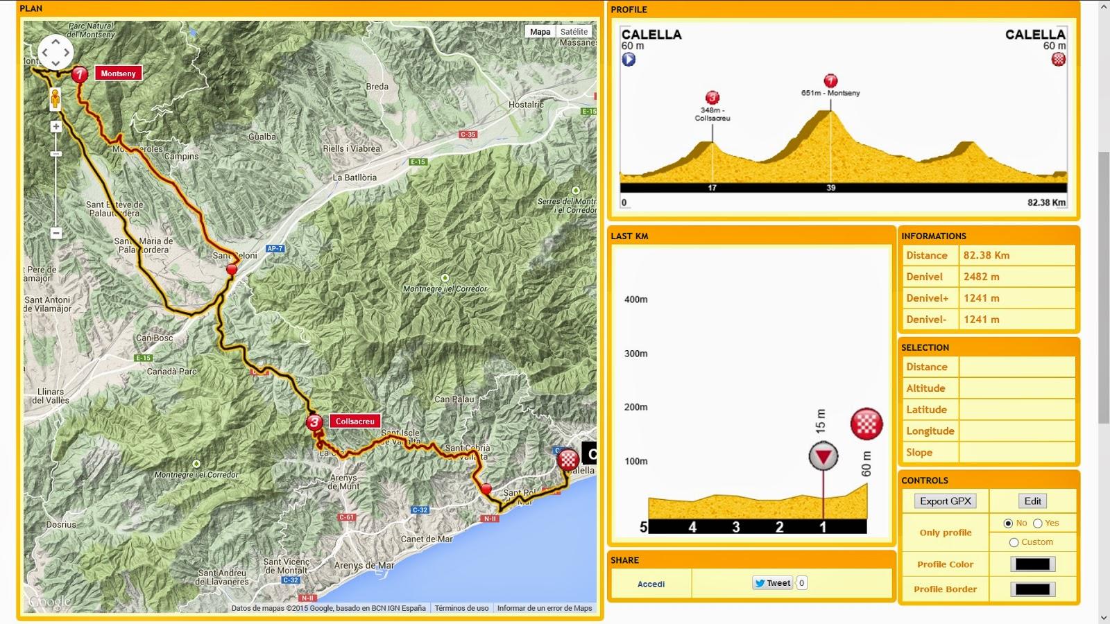 Montefusco Cycling Bike rental for Ironman Barcelona 703
