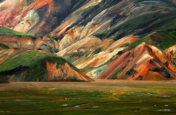 The Landmannalaugar region in Iceland