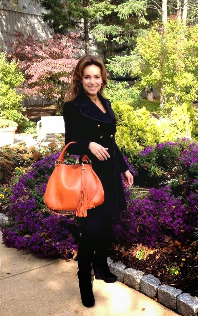 tall black suede for lisa robertson of qvc