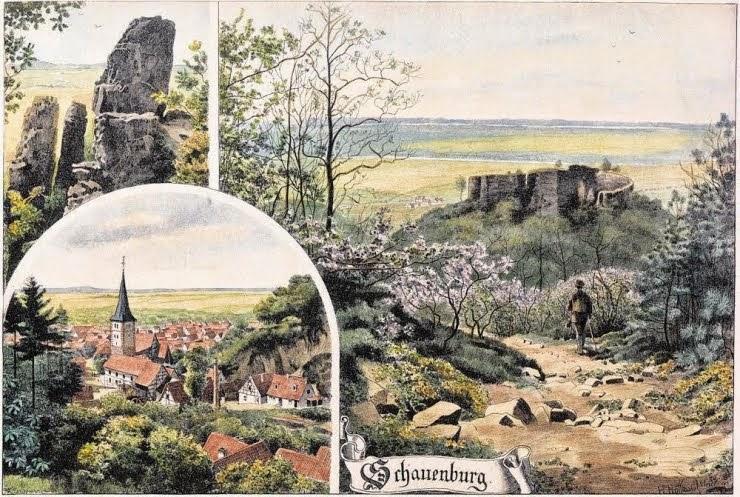 Postkarte koloriert