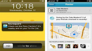 Get Foursquare Radar for iOS 5