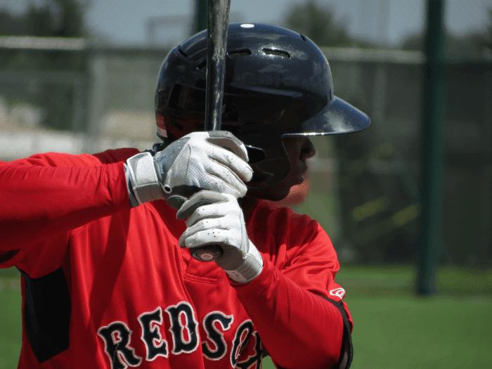 Rusney Castillo Red Sox - BeGreen90 Flickr