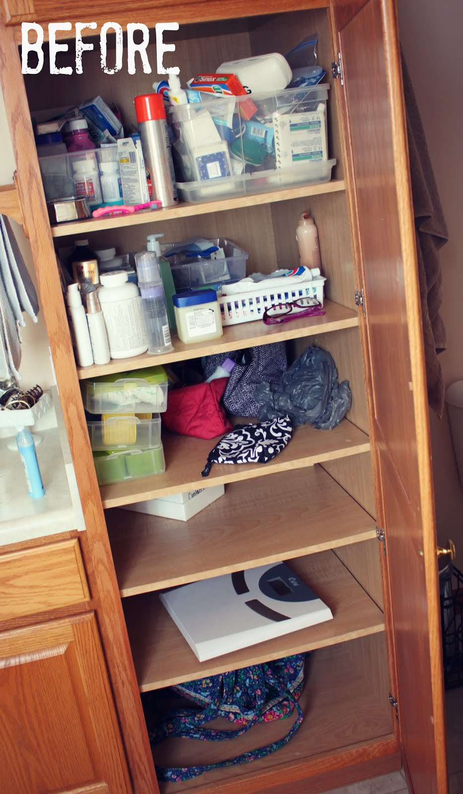 organizing our home the bathroom cabinet free printables house by