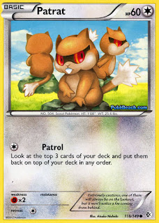 Patrat Boundaries Crossed Pokemon Card