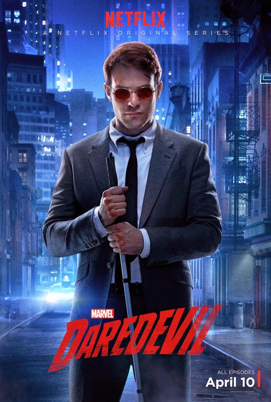 Marvel's Daredevil Character Television Poster Set - Charlie Cox as Matt Murdock/Daredevil