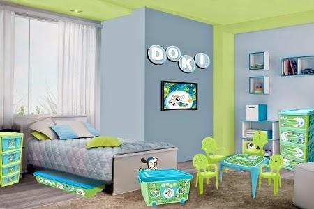 Habitaciones bebe idea de habitacion doki - Habitacion completa bebe ...