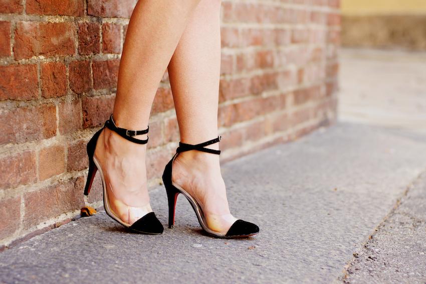 pvc sandals suede