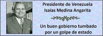 Presidente de Venezuela Isaías Medina Angarita quien gobernó en el período 1941-1945