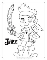 jake and the never land pirates coloring pages coloring sheets jake
