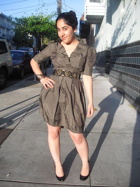 Green Chloe Dress