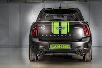Mini John Cooper Works Countryman All4 Dakar Winner 2013 (2013) Rear