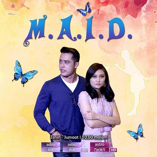 Sinopsis drama Maid Astro Ria, gambar drama Maid Astro, pelakon drama Maid, Ayda Jebat – Noorul, Zul Ariffin – Harris, Mr. F dikenali mister fussy
