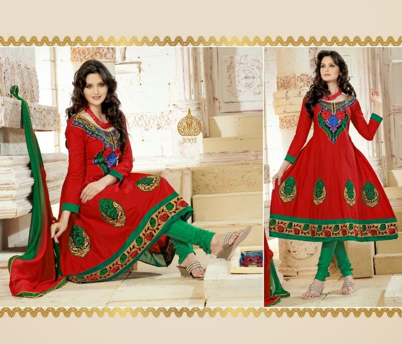 Buy georgette designer anarkali dresses online
