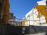 Málaga, solar resultado de demoliciones de edificios históricos en calle Beatas 5-7 y Calle Álamos 10-12
