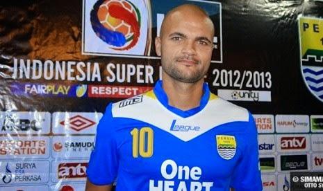 Debut Karir Sergio Van Dijk di Indonesia Bersama Tim Garuda