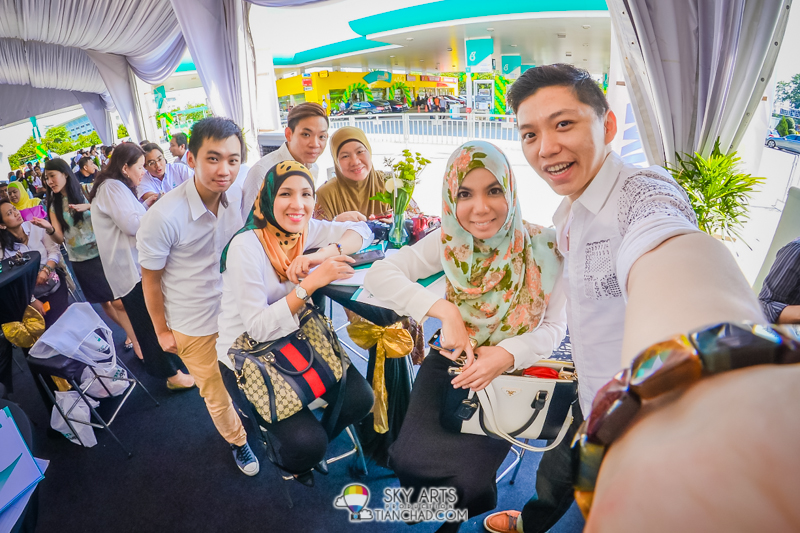 #TCSelfie with Nuffies, Fadilla and CikEpal