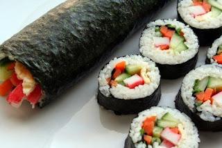 Cara membuat Kimbab