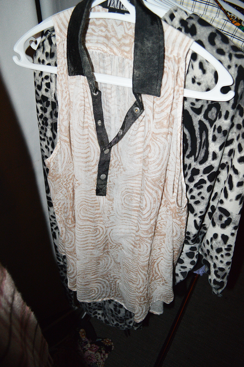 Vena Cava top at the Fashion Exchange event with Bib + Tuck